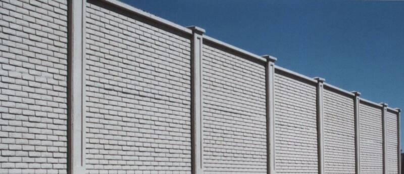 Grout Precast Walls : Heritage precast concrete walls fences