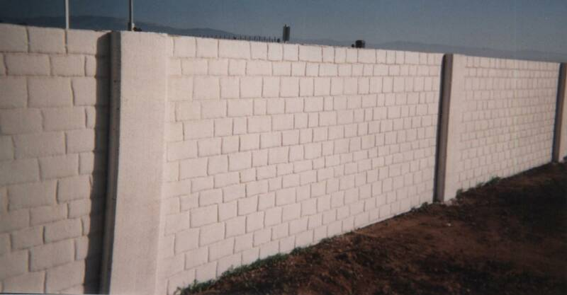 Modern metal fence design concrete stone wall fence wall fence design