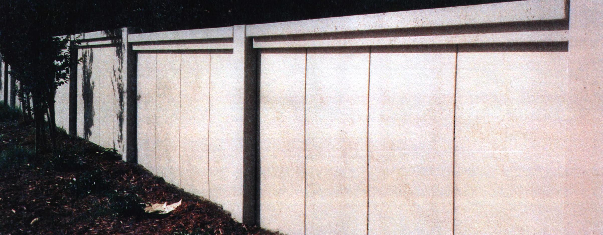 precast concrete wall, precast concrete, concrete fence, concrete sound wall