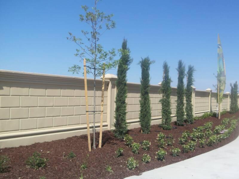 Precast concrete fence systems precast concrete walls - Precast concrete fences ...